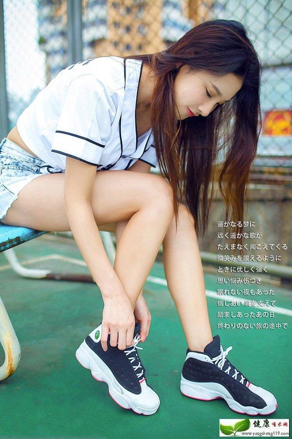 高挑卖萌无罪的篮球宝贝(1)