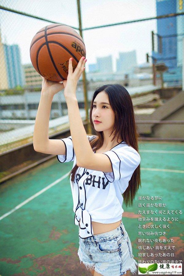 高挑卖萌无罪的篮球宝贝(2)