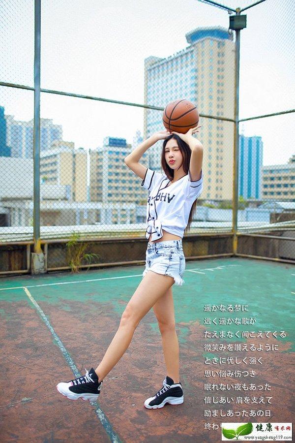 高挑卖萌无罪的篮球宝贝(4)